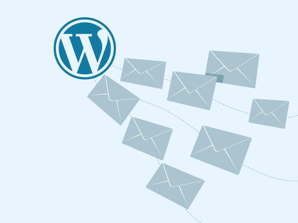 Wordpress Logo löst Spam Mails aus